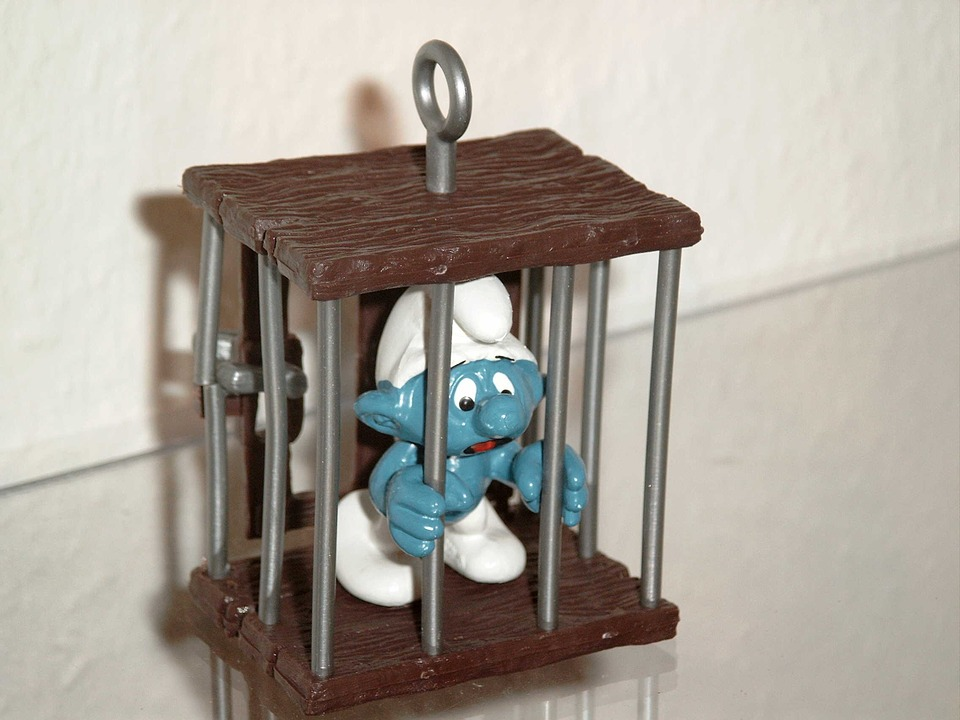 ve vězení