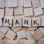 Poděkování všem dárcům